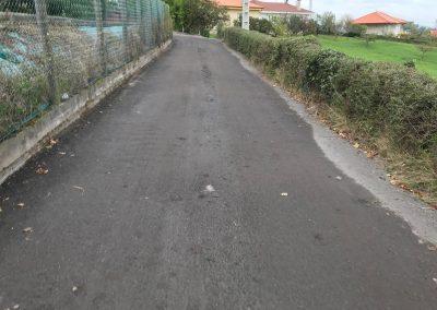 Vista asfalto